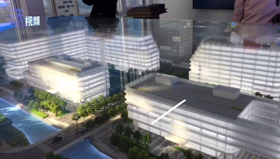 国际商务综合体预计将于春节前完成结构封顶