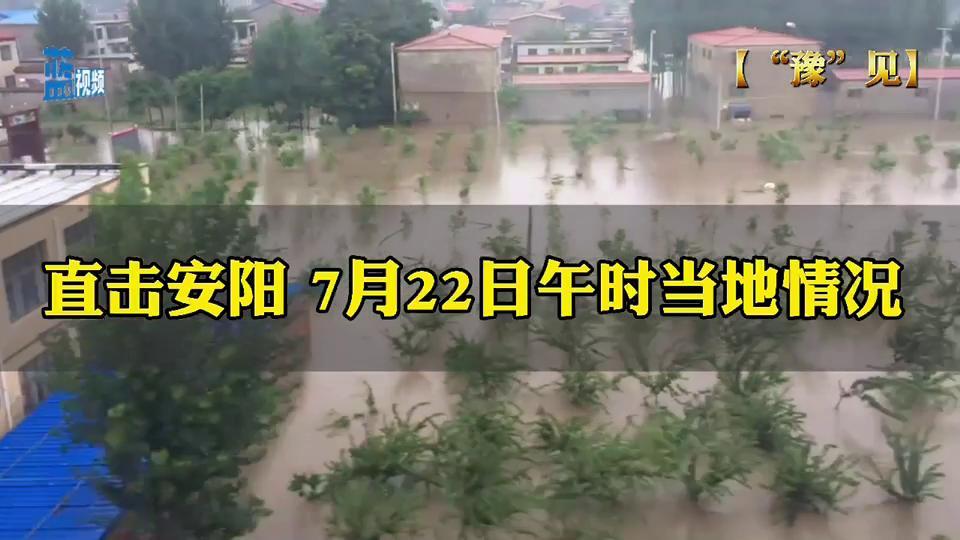 """【""""豫""""见】直击安阳 7月22日午时当地情况"""